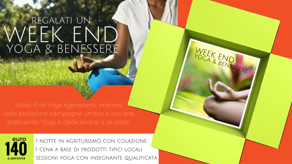 week end yoga in agriturismo