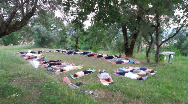 Yoga al Parco Roccolo San Giustino
