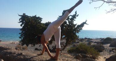 Yoga salute