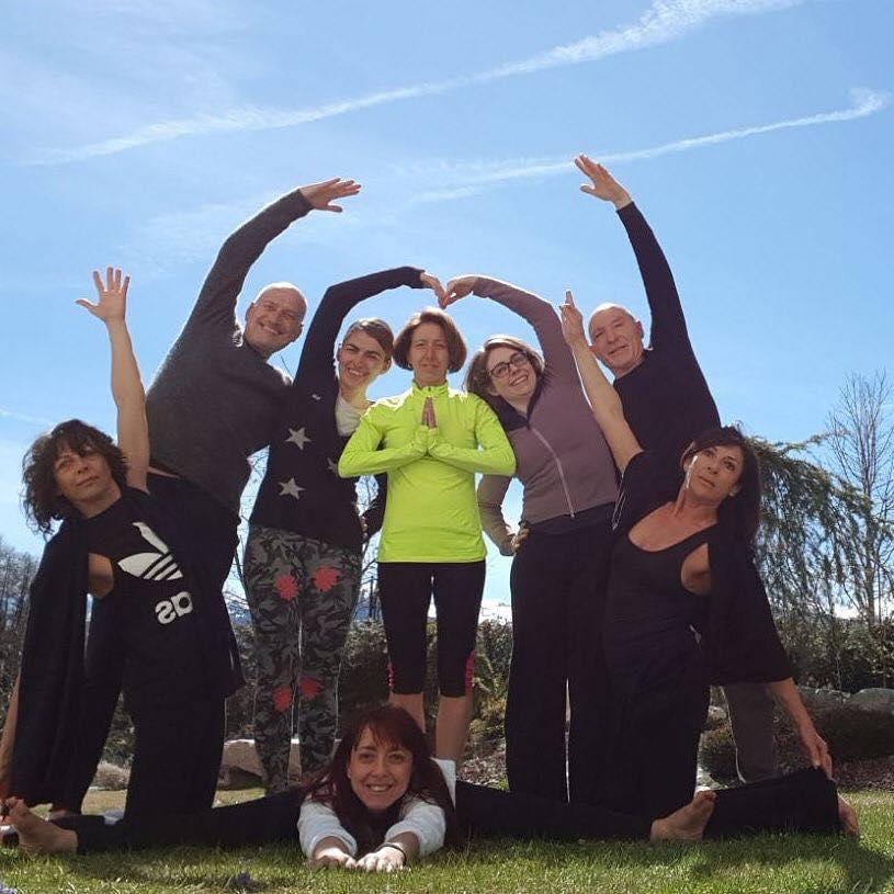 ritiro yoga Trentino
