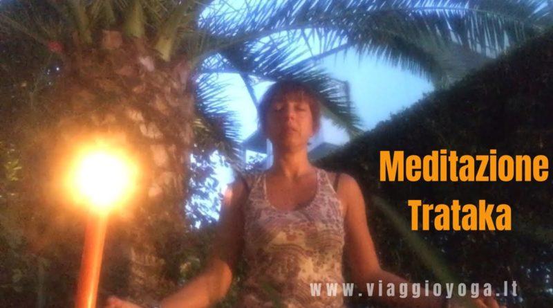 meditare con la candela