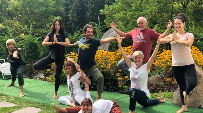 Yoga in Trentino