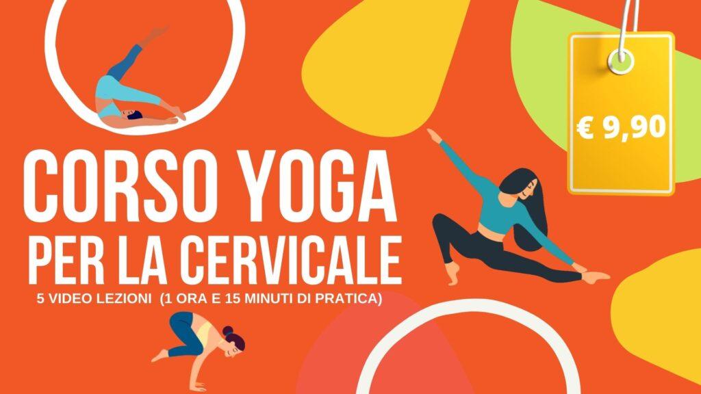 yoga per la cervicale corso on line