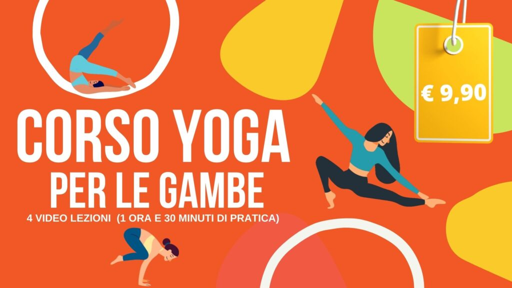 corso yoga on line gambe