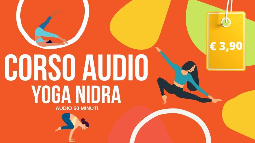 corsi audio yoga nidra per rilassamento