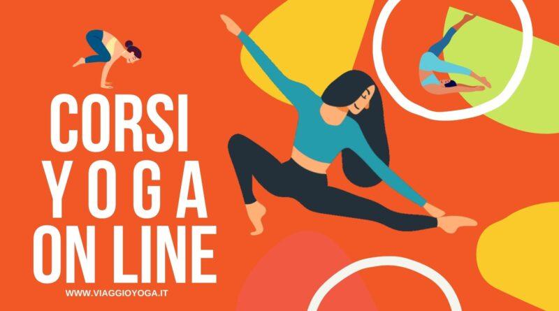 yoga a distanza video corsi